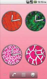 Animal Clocks - FREE- screenshot thumbnail