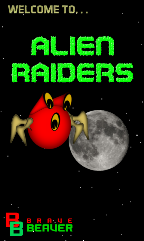 Alien Raiders (Space Invaders)- screenshot