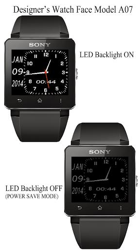 A07 WatchFace for SmartWatch2