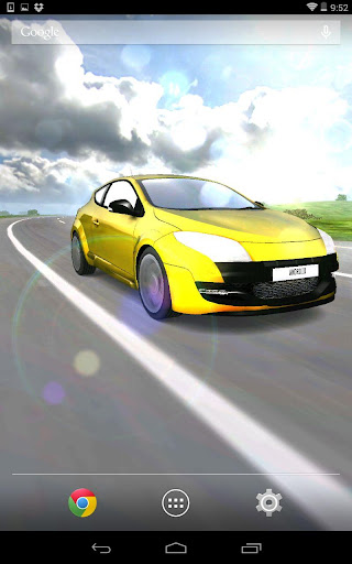 3D Car Live Wallpaper