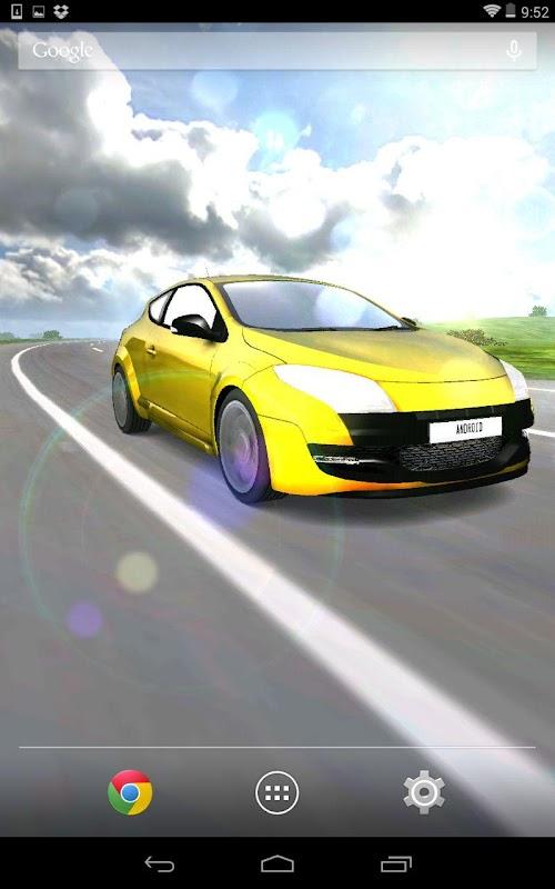 3d Car Live Wallpaper Apk 3 2 Download Free Personalization Apk