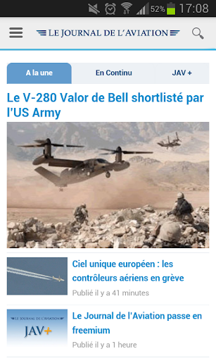 Le Journal de l'Aviation