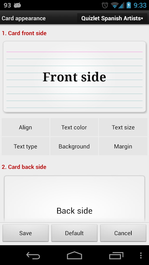 Flashcards Buddy Pro - screenshot