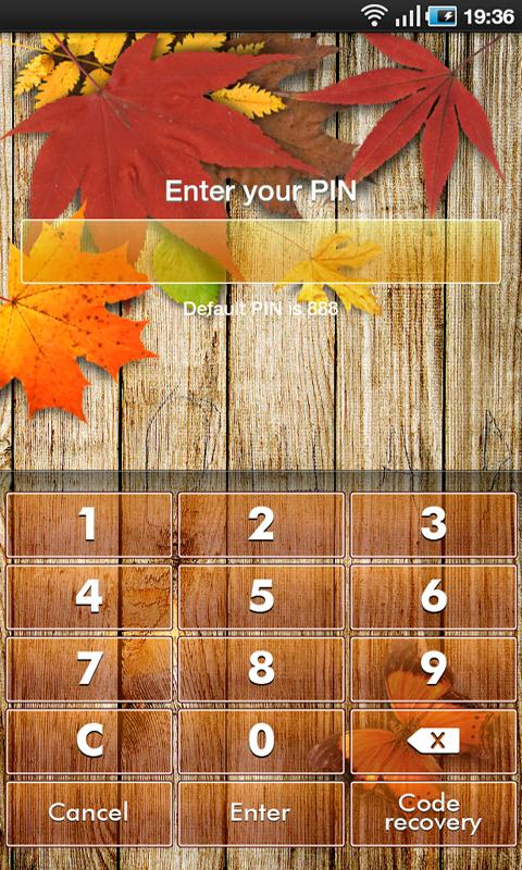 App Guard - Autumn Theme - screenshot