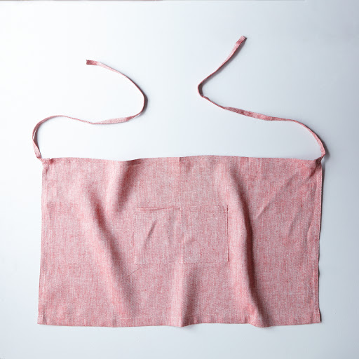 Thick Linen Chambray Apron