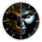 Zombies vs Vampires Clock