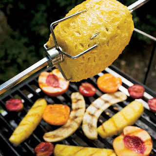 Grilled Fruit with Lemon Zabaglione.