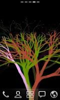 Screenshot of Plasma Tree Live wallpaper