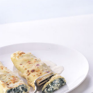 Spinach and Cheese Cannelloni.