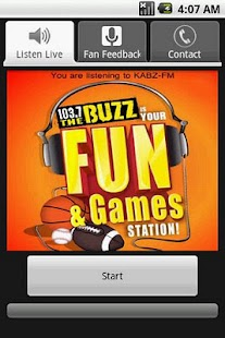 103.7 The Buzz - Sports Talk - screenshot thumbnail