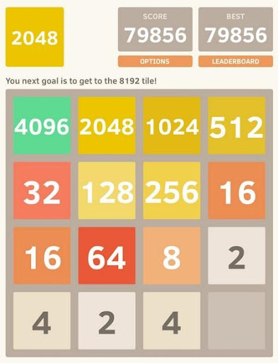 2048 Puzzle Game Lite