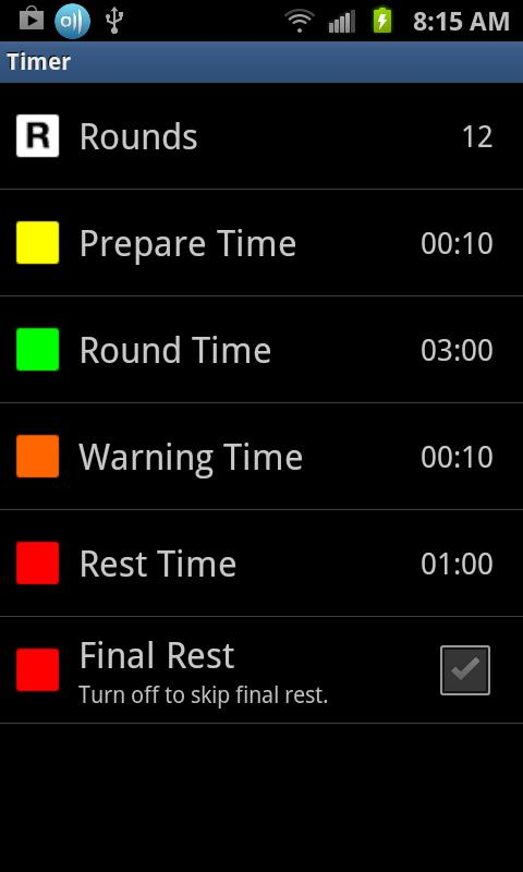 Boxing Timer Pro - Round Timer- screenshot