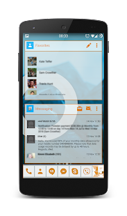 APW Theme 192C XDA Orange- screenshot thumbnail