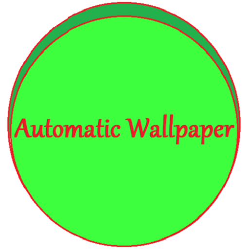 Automatic Wallpaper LOGO-APP點子