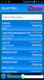 Call Tracker Lite - Spy - screenshot thumbnail