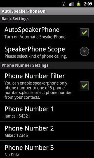 AutoSpeakerPhoneOn