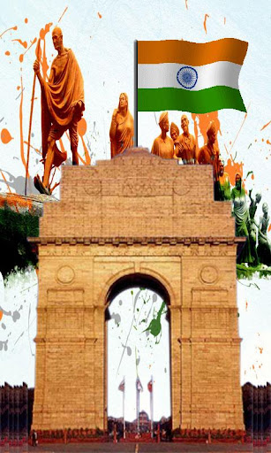 India Gate Live Wallpaper