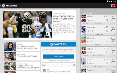 NFL Mobile Screenshot 18
