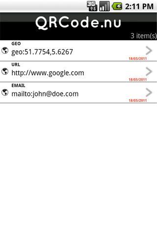 QRCode.nu- screenshot