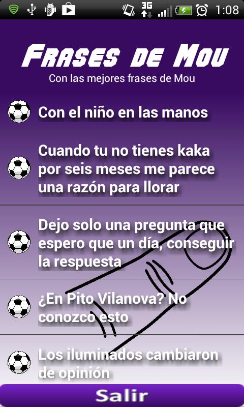 Frases Mourinho (Audio) - screenshot