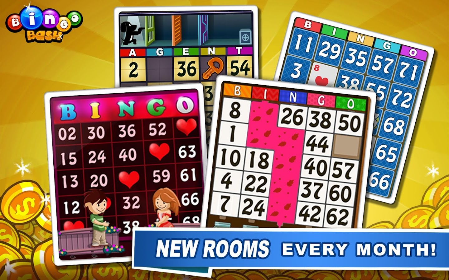 Bingo Bash - Free Bingo Casino - screenshot