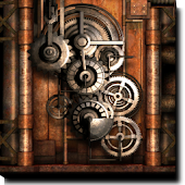 Steampunk Live Wallpaper Gears