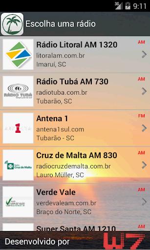 Rádios - Região dos Lagos