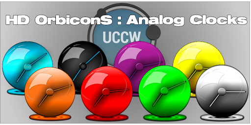 UCCW OrbiconS Analogue Clocks