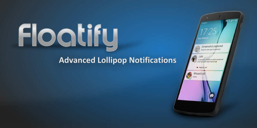 Floatify Heads-up Notification - screenshot
