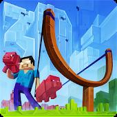 Angry Herobrine 3D: Pig Wars