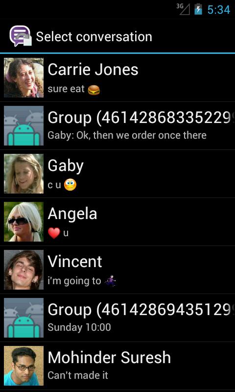 Backup Text for Viber - screenshot