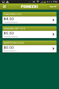 Pioneer-Mobile Banking- screenshot thumbnail