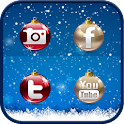 MERRY CHRISTMAS icon theme icon