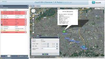 Screenshot of GPS Tracker Web & SMS Trial