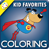 Coloring Book: Kid Favorites