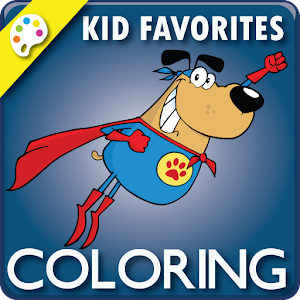 Coloring Book: Kid Favorites for PC and MAC