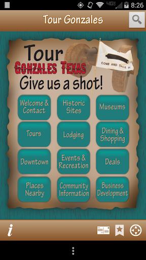 Tour Gonzales Texas