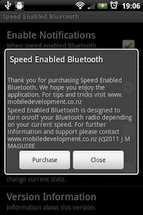 Speed Enabled Bluetooth Trial - screenshot thumbnail