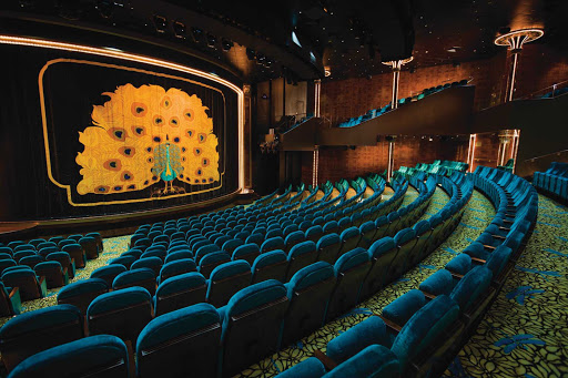 Norwegian-Pearl-Theater - Watch Vegas- and Broadway-style performances at Norwegian Pearl's Stardust Theater.