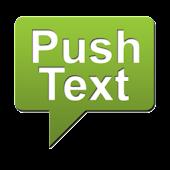 Push Text