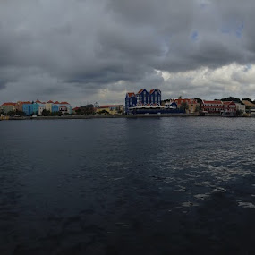 Willemstad panoramic by Bonnie Lea - Instagram & Mobile iPhone