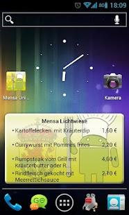 Mensa Darmstadt - screenshot thumbnail