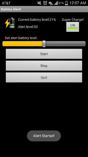 Full Battery & Theft Alarm Android App - Download APK - Android Apps, Games, Live Wallpapers, Themes