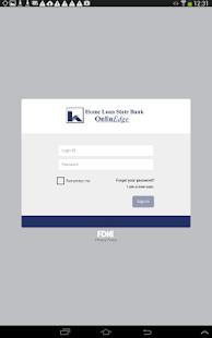Home Loan State Bank MobilEdge- screenshot thumbnail