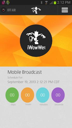 IWowWe Broadcaster