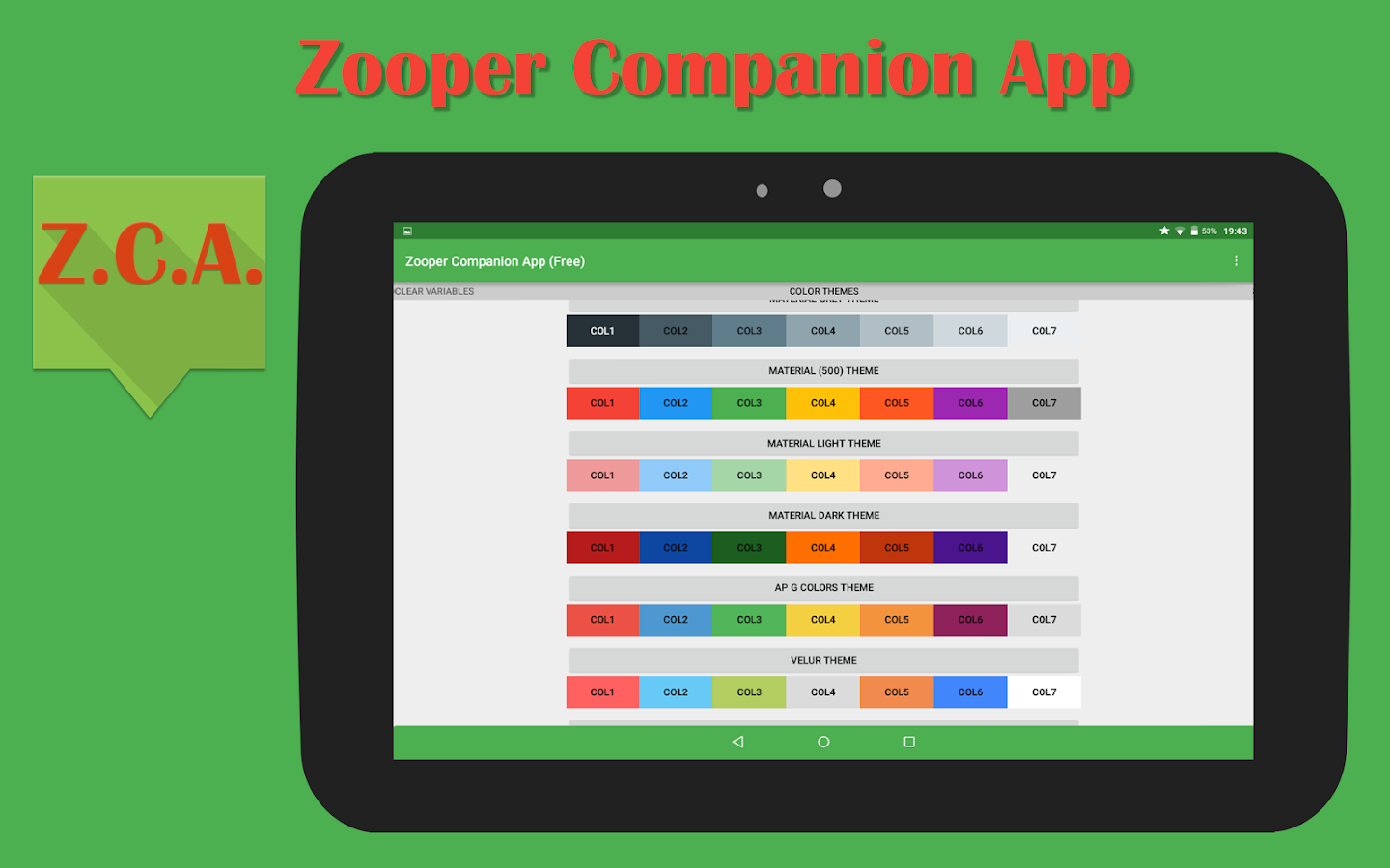 Zooper Companion App (Free)- screenshot