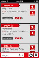 Screenshot of TrafikRadar.hu