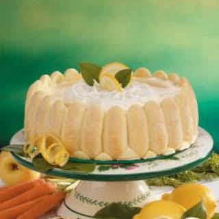 Ladyfinger Lemon Dessert.