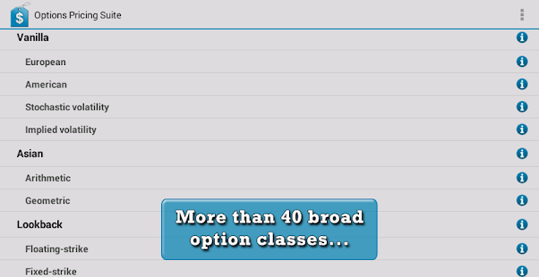 Options binary suite