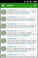 Screenshot of IQD News